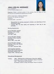 nanny duties resume nanny resume sample resume for study