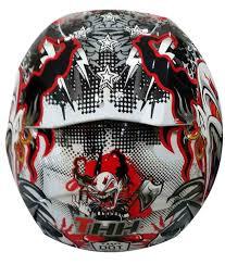 thh motocross helmet thh ts 41 white red clown full face helmets white m buy thh ts