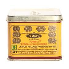 bush food color lemon yellow powder 100g pack amazon in