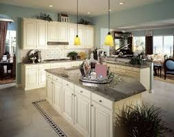 Flooring For Kitchen by 36 Inspiring Kitchens With White Cabinets And Dark Granite Pictures