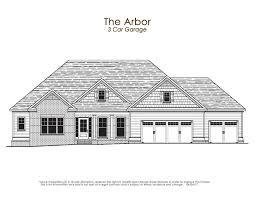 how big is a three car garage the arbor ii lowe properties