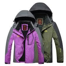Man Outdoorjackets Women Waterproof Windproof Rain Coat Trekking