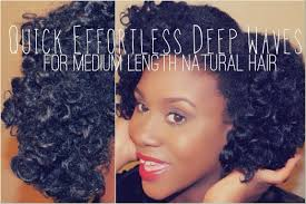 black natural hairstyles for medium length hair quick effortless