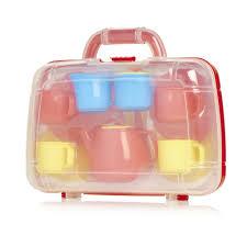 wilko play tea set in carry case at wilko com