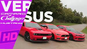 whats better a camaro or challenger 2017 challenger hellcat vs mustang gt350r vs camaro zl1