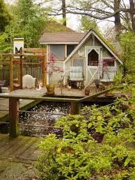 original anna millman backyard chickens coop deck water feature s
