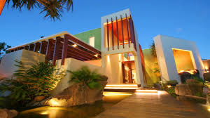 exterior beautiful modern tropical home designs architect