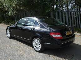 used mercedes c class for sale in uk used mercedes 2008 black colour diesel class c200 cdi