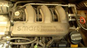 2002 smart fortwo 600cc city coupe engine m160 youtube