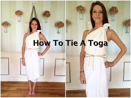 halloween costume white button up shirt how to tie a toga tutorial diy and crafts pinterest