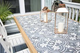 tile table top makeover 11 gorgeous ways to use cement tile home stories a to z