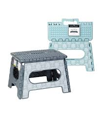 laura ashley home tatton gray 9 folding step stool set of two