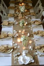 ideas for bridal luncheon by the roll 18 wide burlap table runner wedding or
