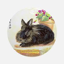 rabbit ornament cafepress
