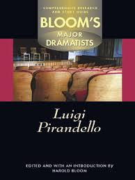 patsy griffin luigi pirandello blooms major dramatists 2002