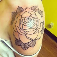 black rose tattoo on shoulder tattoo ideas center