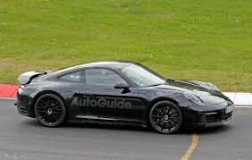 porsche dark green 2019 porsche 911 coupe reveals more in latest spy photos