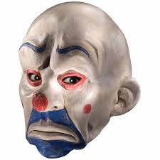 purge mask spirit halloween latex horror black eyed evil clown mask halloween fancy dress