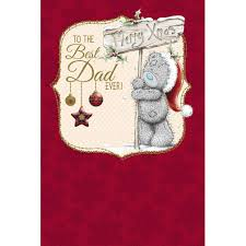 best dad ever me to you bear christmas card 3 59 me to you bear