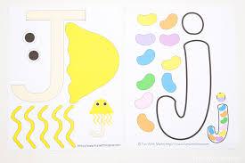 letter j for preschool format