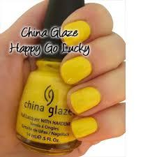 china glaze happy go lucky nail polish lacquer free shipping