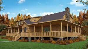 log homes with wrap around porches log cabin kit the sports a great wrap around porch