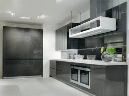 european modern kitchen design ideas european tone gray white