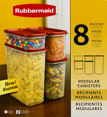 rubbermaid modular canisters food storage container bpa free 8