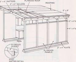 shed roof garage plans shed pinterest shed roof sheds and