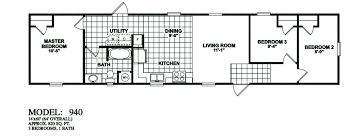 1 bedroom trailer 1 bedroom mobile home plans homepeek