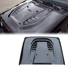 jeep hood vents xprite hard rock 10a front steel metal hood with mesh vents for