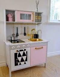 Ikea Kitchen Cart Makeover - 54 best ikea duktig play kitchen makeovers u0026 hacks images on