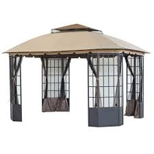 Patio Gazebos by Patio Gazebo Canopy The Home Depot