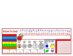 Desk Name Tags by Third Grade Desk Name Tag Math Helper Multiplication Chart And