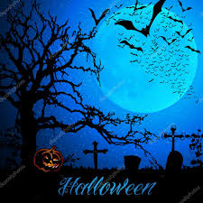 halloween background template modello di sfondo halloween u2014 vettoriali stock bagotaj 53042289
