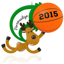 hallmark 2015 basketball ornament qgo1417