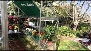 palram essence 8x12 greenhouse plenty of space in a harmony