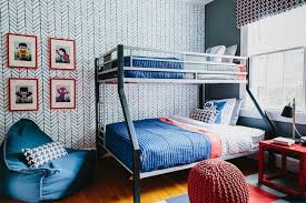 wallpapers for kids bedroom bedrooms kids bedroom with chevron pattern accent wallpaper and