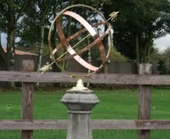 large sundial garden ornament for any garden and business