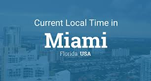 time current local time in miami florida usa
