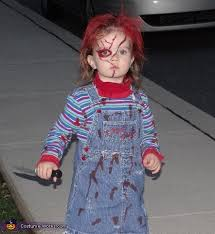 1 Costumes Halloween Girlie Chucky Costume Chucky Halloween Costume Contest