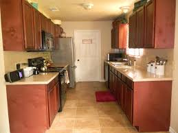 kitchen designer galley kitchens white rta cabinets microwave