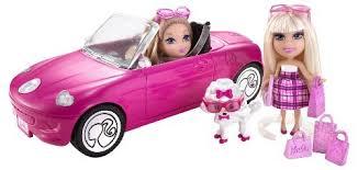 barbie mini convertible sports car doll barbie mini