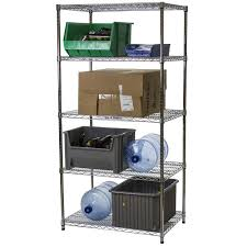 5 Shelf Wire Shelving 24