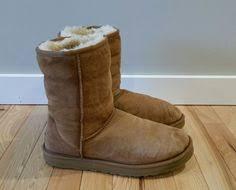 s ugg australia brown leather boots ugg australia boots sheepskin suede 5825 chestnut