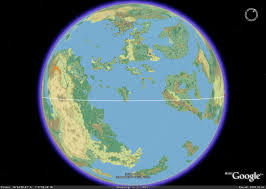 World Map With Equator Google Mystara