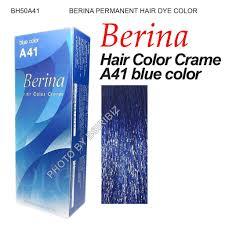 berina perment hair dye color colour cream cool crezy shades