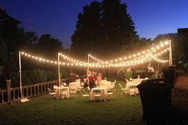 Outdoor Lighting Ideas For Patios Wedding Exceptional Backyard Wedding Ideas Image Outdoor
