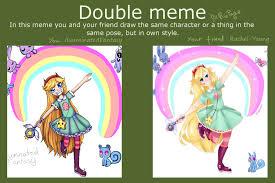 Double Meme - double meme with rachel young by illuminatedfantasy on deviantart