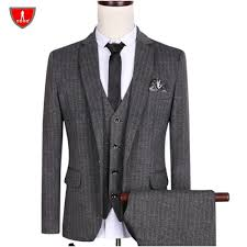 sale suit m 5xl gray blazer single breasted cutton